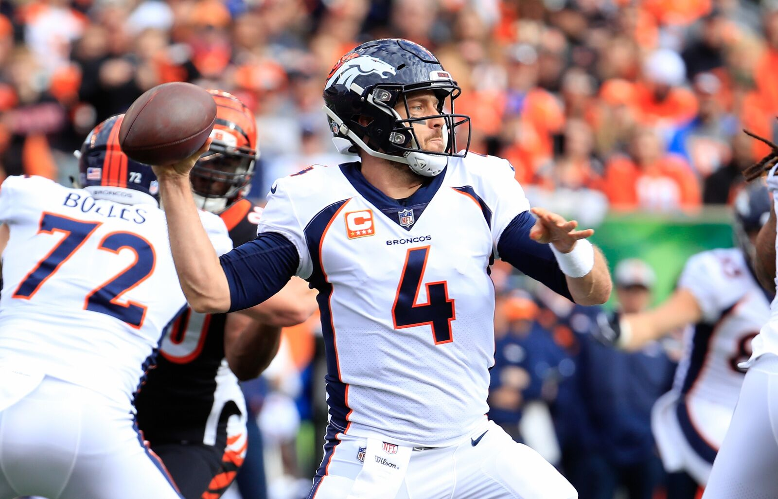 Denver Broncos: Case Keenum has not been the problem