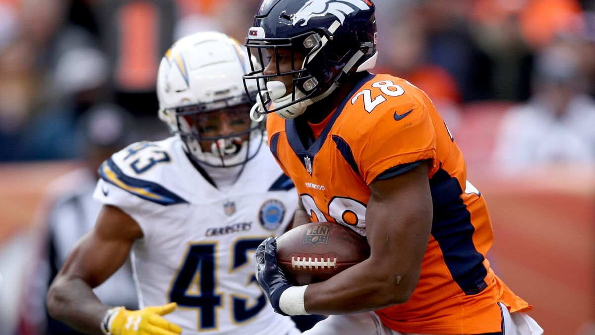 Don't forget about Royce Freeman for the Broncos in 2019