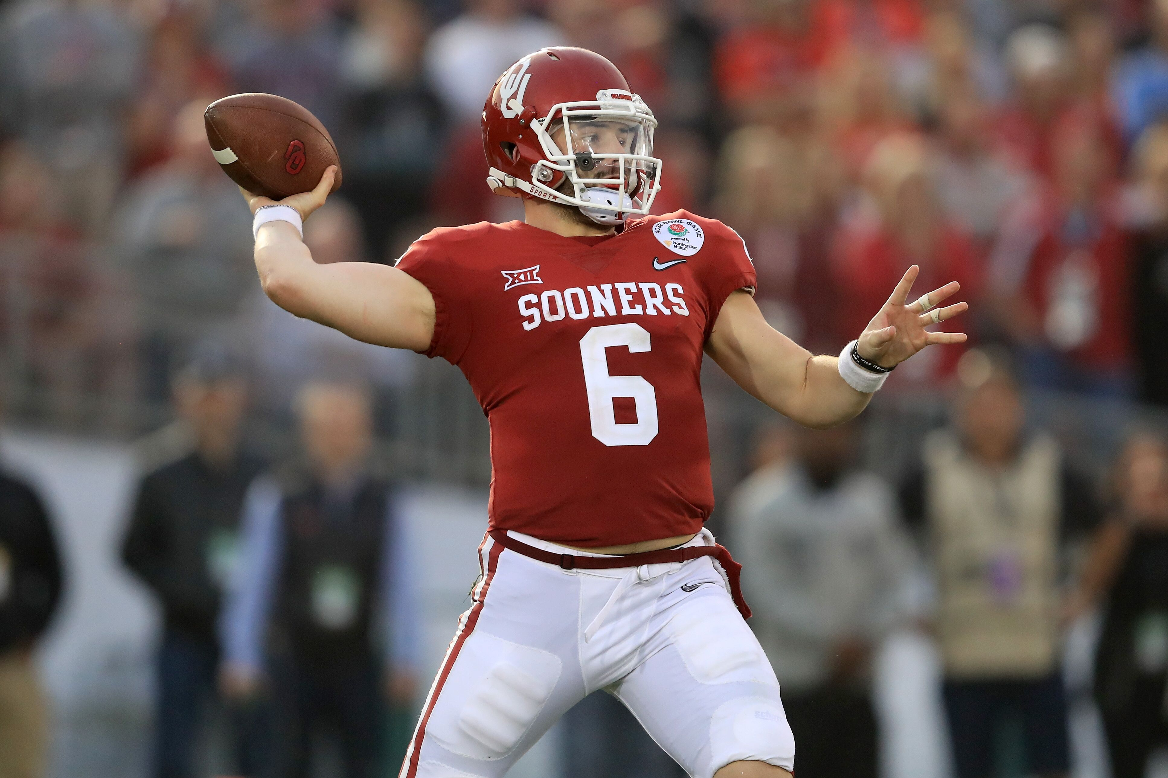 Image result for baker mayfield oklahoma