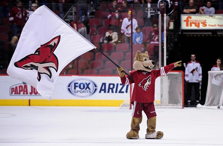 Arizona Coyotes Wearing Throwbacks on March 5th 22c62cede