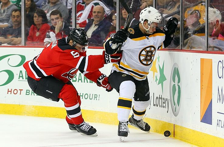 finest selection 34340 72f26 Should the New Jersey Devils Trade Adam Larsson?