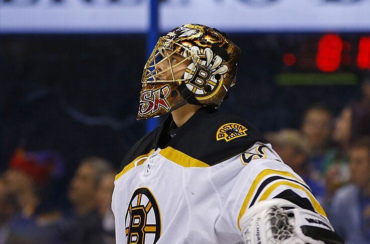 Boston Bruins Sideline Rask Khudobin Look To Ahl