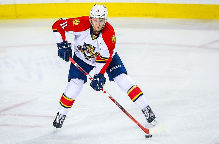 new arrival 971a4 4591c Florida Panthers F Jonathan Huberdeau Injured, Out Long-Term