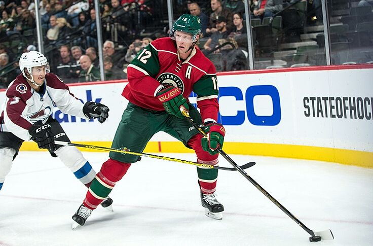 newest 15ec3 7848a Eric Staal is Bouncing Back to His Old Self with Minnesota wild