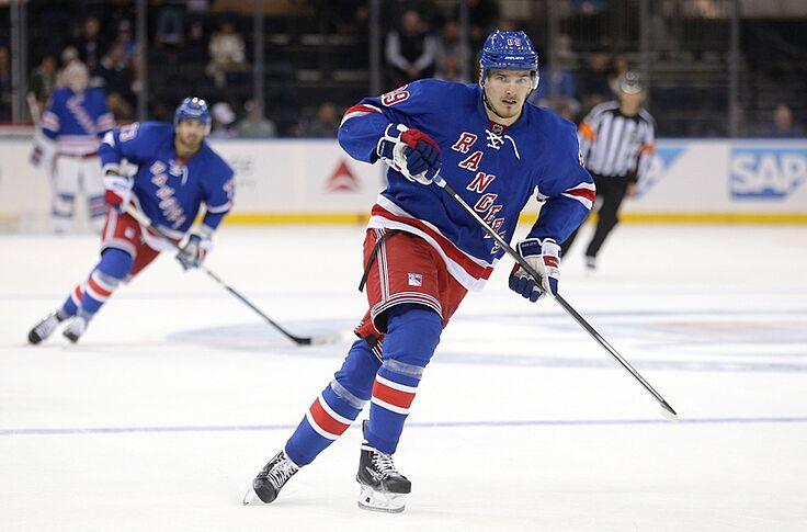 online retailer 5c4ab eeb6a Pavel Buchnevich, Rangers Rookie, Has Work to Do Upon Return