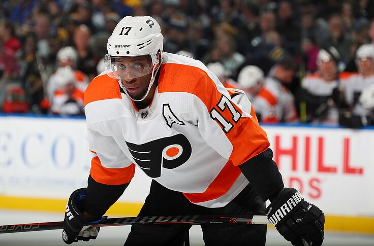 huge discount 204bf 3f9c5 Philadelphia Flyers: Wayne Simmonds wants to be booed in ...