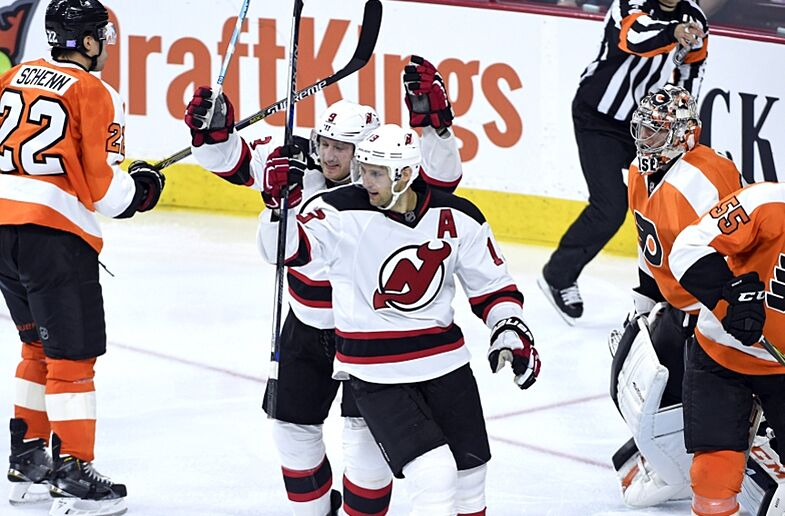 New Jersey Devils  News and Links - The Boss is in Philly 9bb09e754