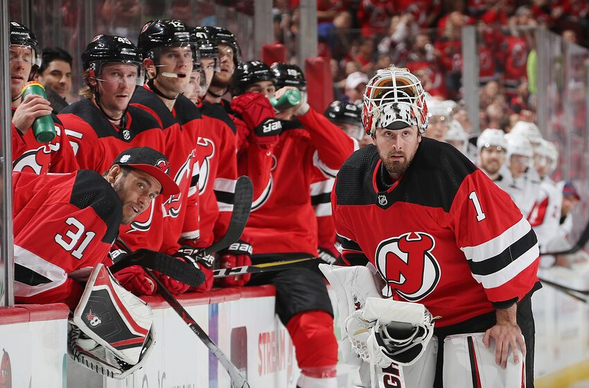 0be6fddfeae New Jersey Devils  How Does Keith Kinkaid Become Starter In Net