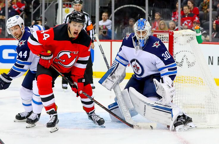 super popular 259b4 ff0eb New Jersey Devils Trade Deadline Profile: Winnipeg Jets