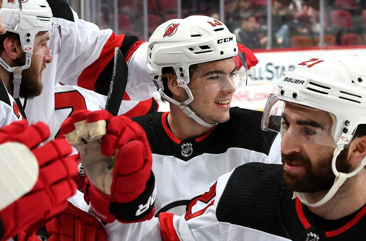 the latest af487 8b9f5 New Jersey Devils: Nico Hischier Contract Should Mirror ...