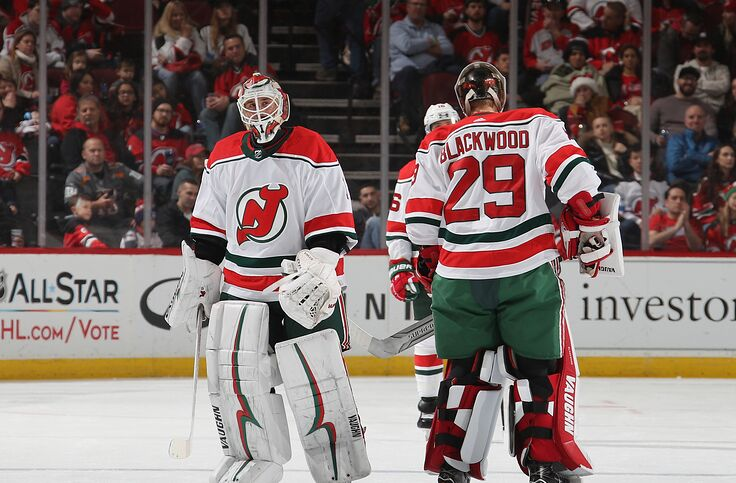 promo code 0722d 1a350 New Jersey Devils: MacKenzie Blackwood Era May Be Starting Early