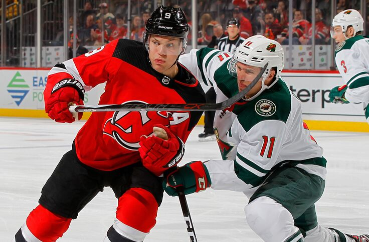 big sale 38799 04189 New Jersey Devils: Taylor Hall, Zach Parise Contract ...