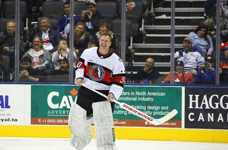 huge selection of 42fbb a9bb0 Martin Brodeur Enters Hockey Hall of Fame on Emotional Night