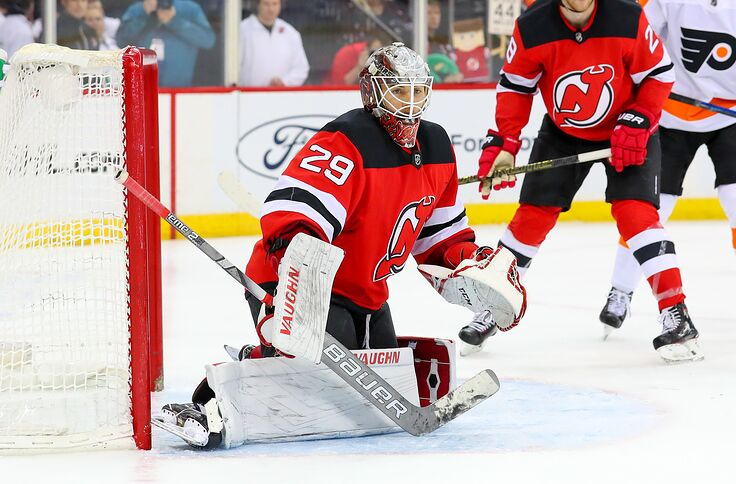 the latest a0fdf eb1b8 New Jersey Devils: MacKenzie Blackwood Starts When Healthy
