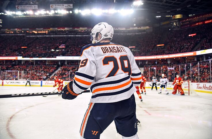 buy popular 627d9 3fb16 New Jersey Devils Should Try To Trade For Leon Draisaitl