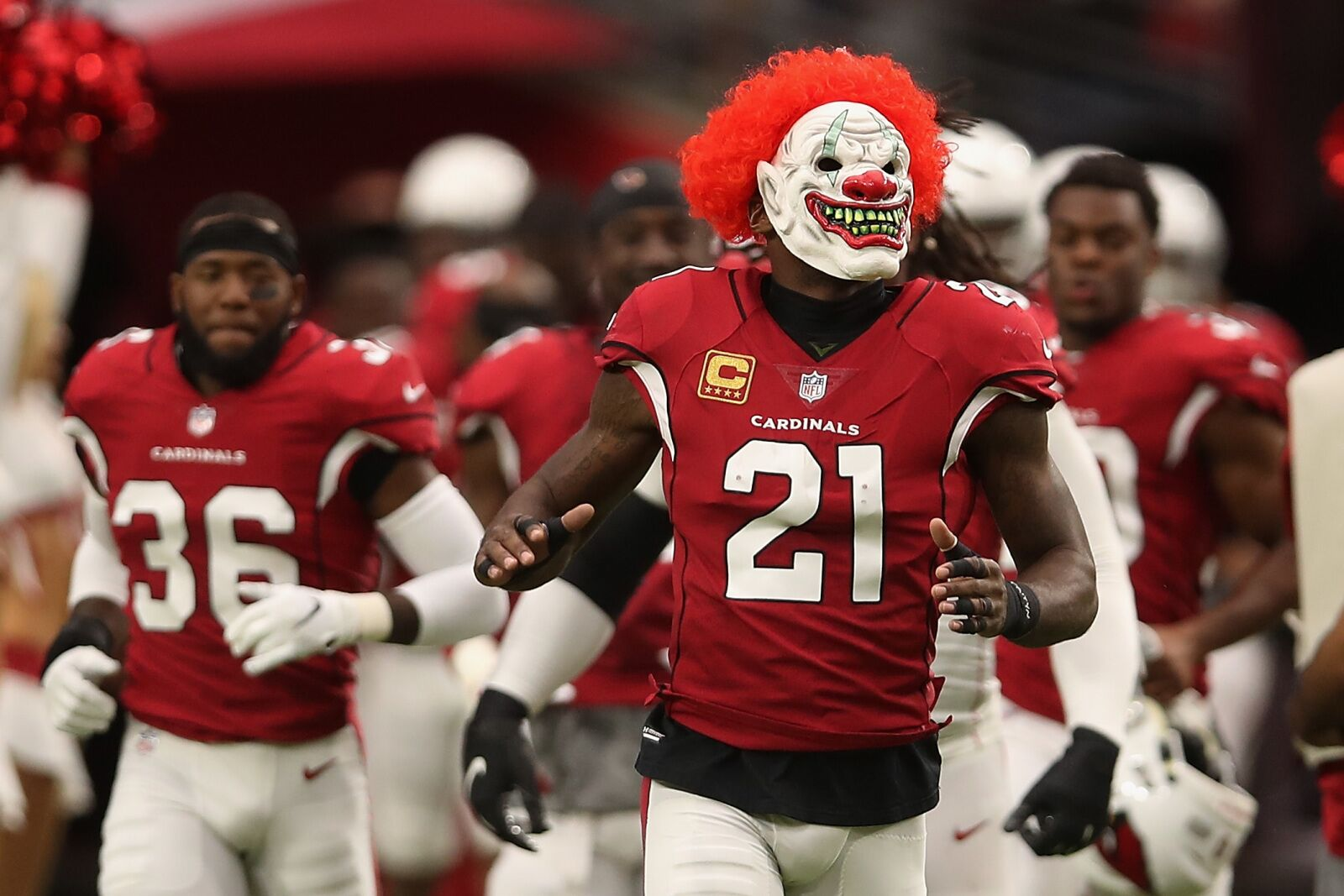 Patrick Peterson has decided to play games