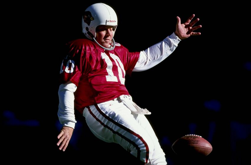 fe93b3ad1a4a 2 Jan 1999  Kicker Scott Player  10 of the Arizona Cardinals punting during  the
