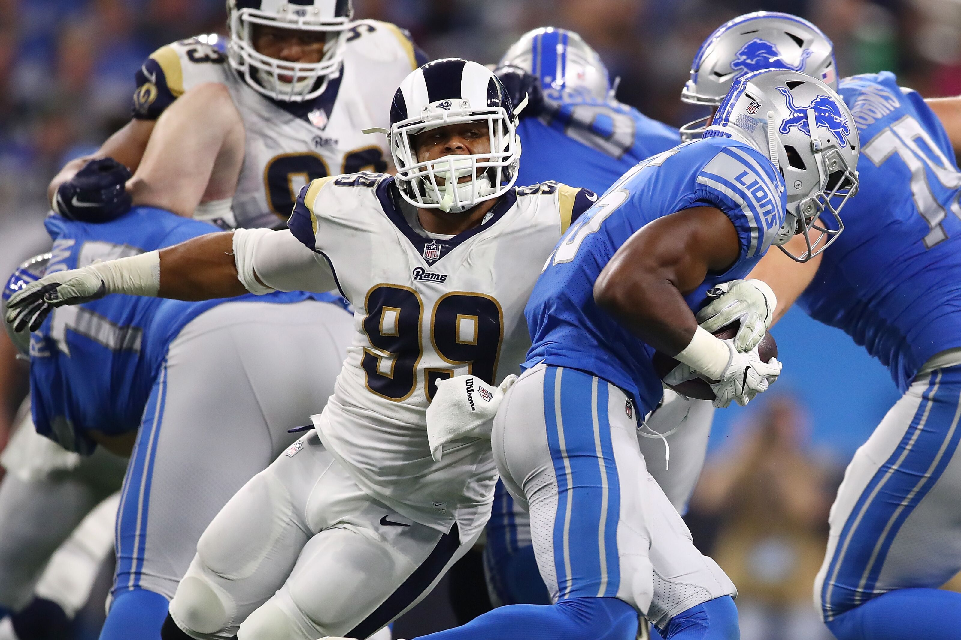 Aaron Donald's presence at OTAs makes huge difference for Rams