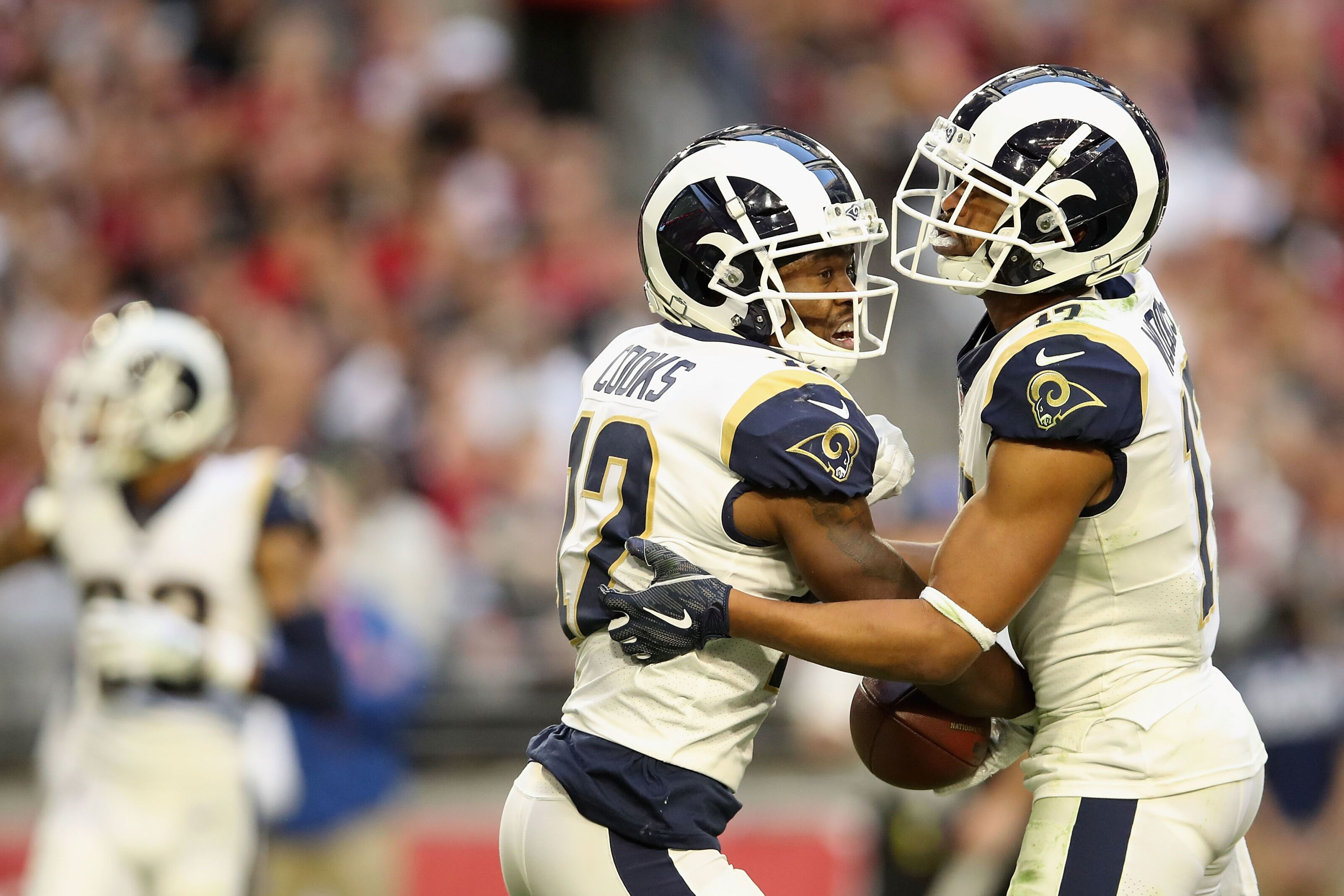 Los Angeles Rams finally don't have a need at wide receiver during offseason