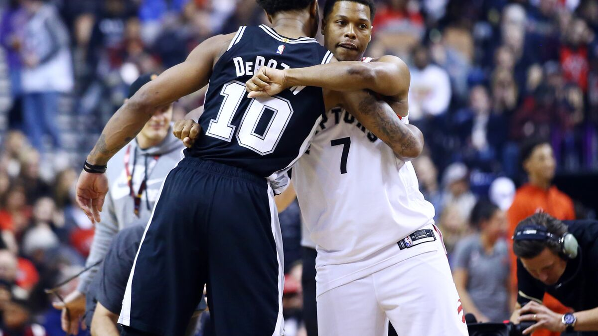 Toronto Raptors looking for revenge against the San Antonio Spurs