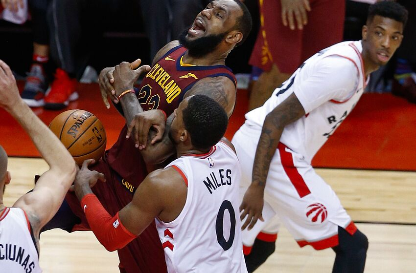 2f3b2d8c1d1 Toronto Raptors vs Cleveland Cavaliers  Game two preview and 3 keys