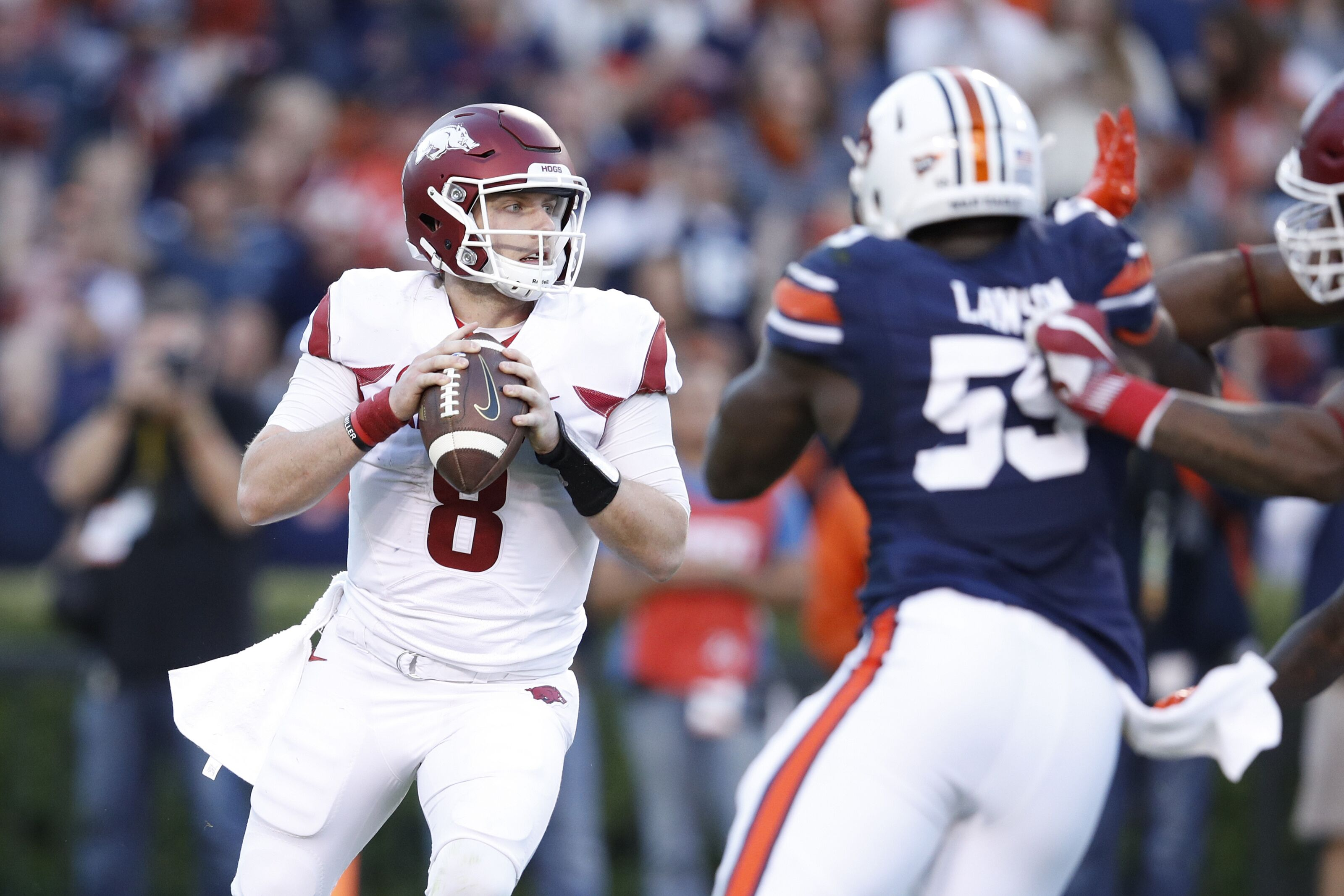 Arkansas vs. Auburn football game: What TV channel, what ...