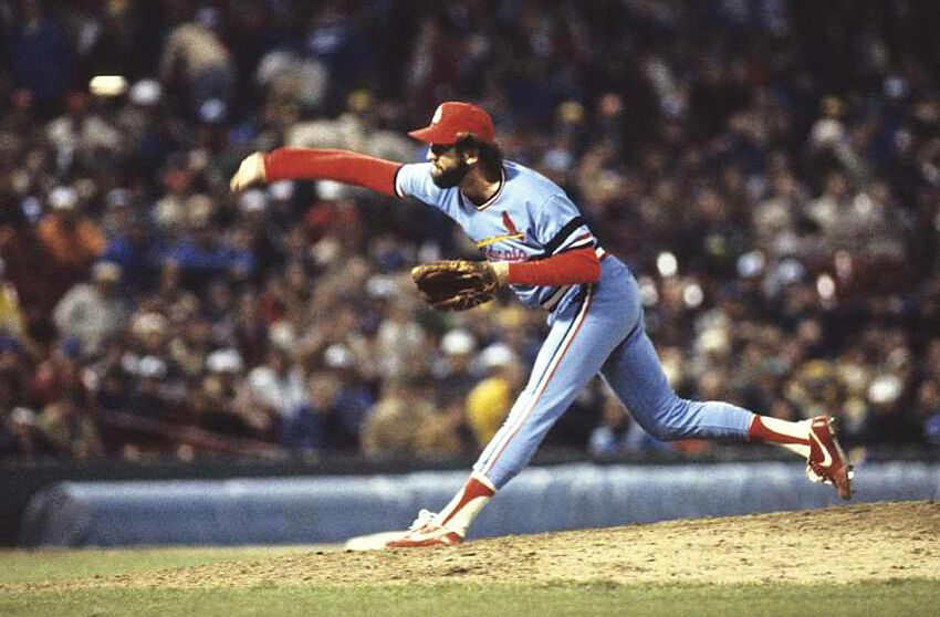 Hall Of Famer Bruce Sutter Nails Down A Save In His Victory Blue Cardinals