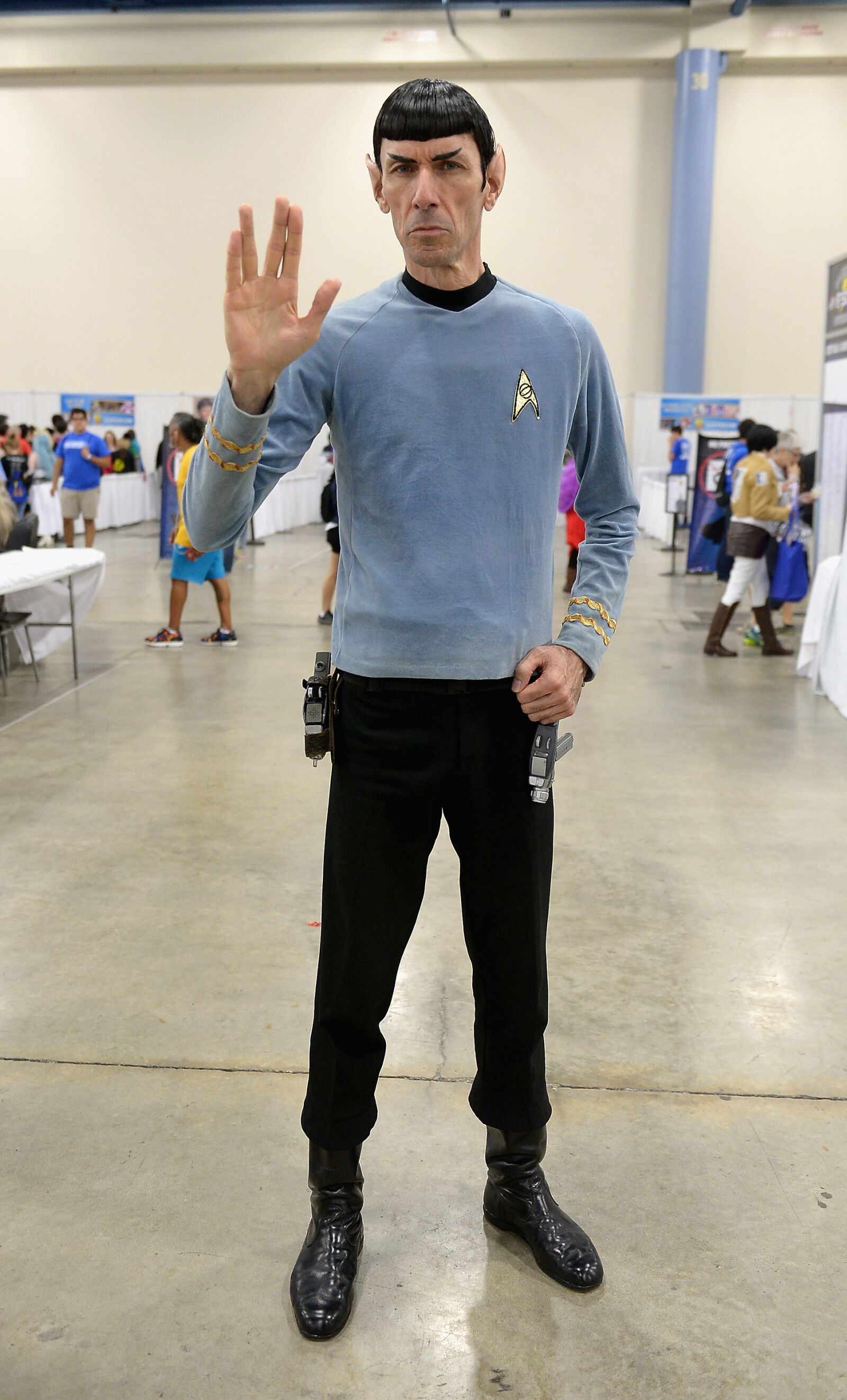 MIAMI, FL - JULY 01: Spock Vegas Paul Forest attends Florida Supercon on July 1, 2016 in Miami, Florida. (Photo by Gustavo Caballero/Getty Images)