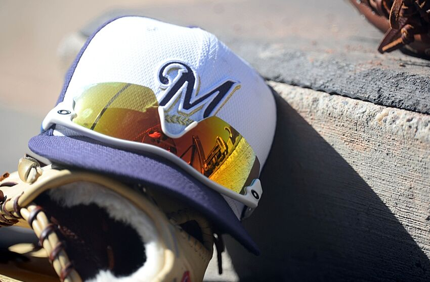 72066cb9015 Milwaukee Brewers  Caps throughout the Years