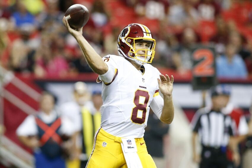Image result for kirk cousins against falcons 2012
