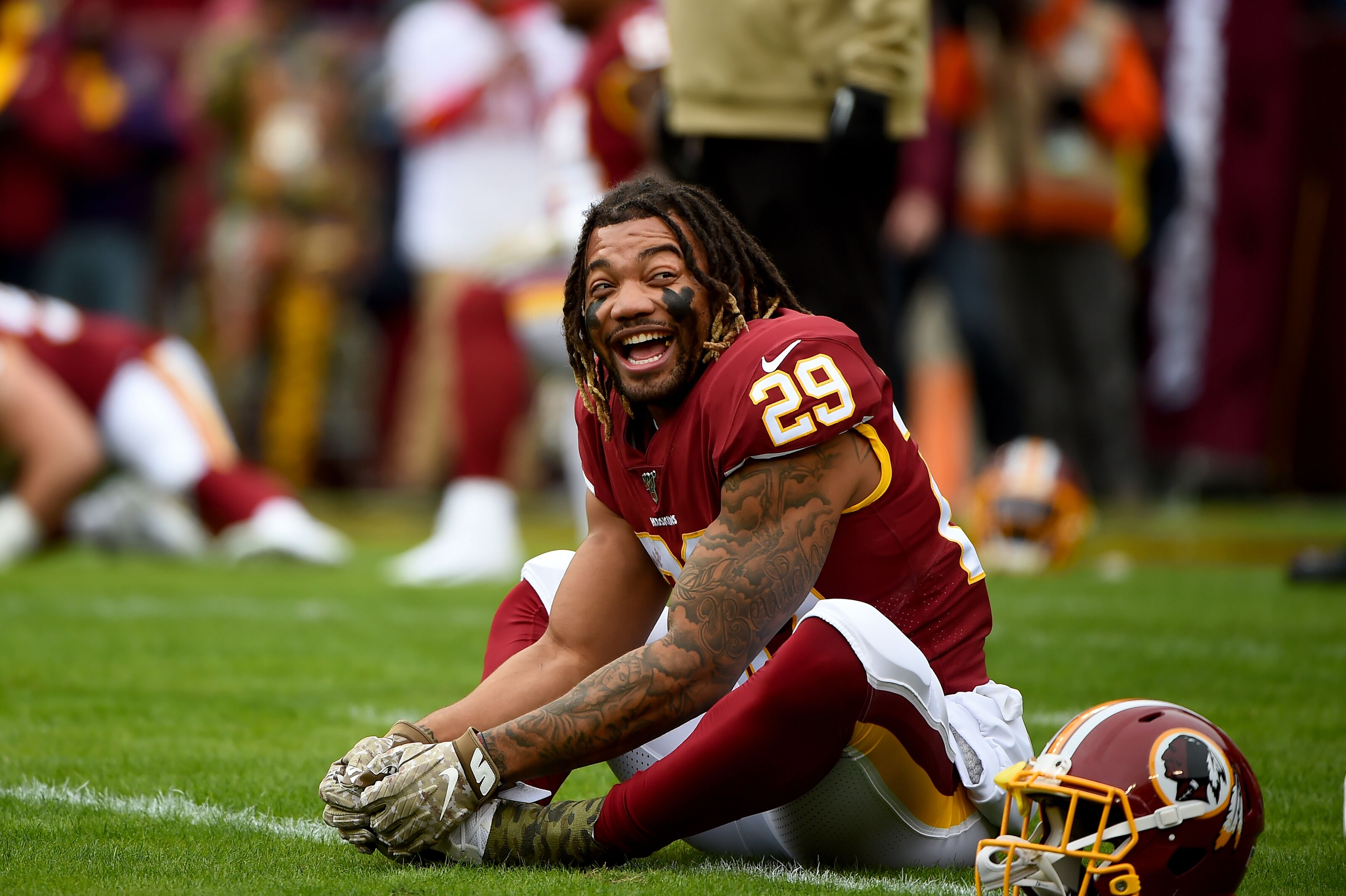 Report: Derrius Guice believed to have suffered MCL sprain