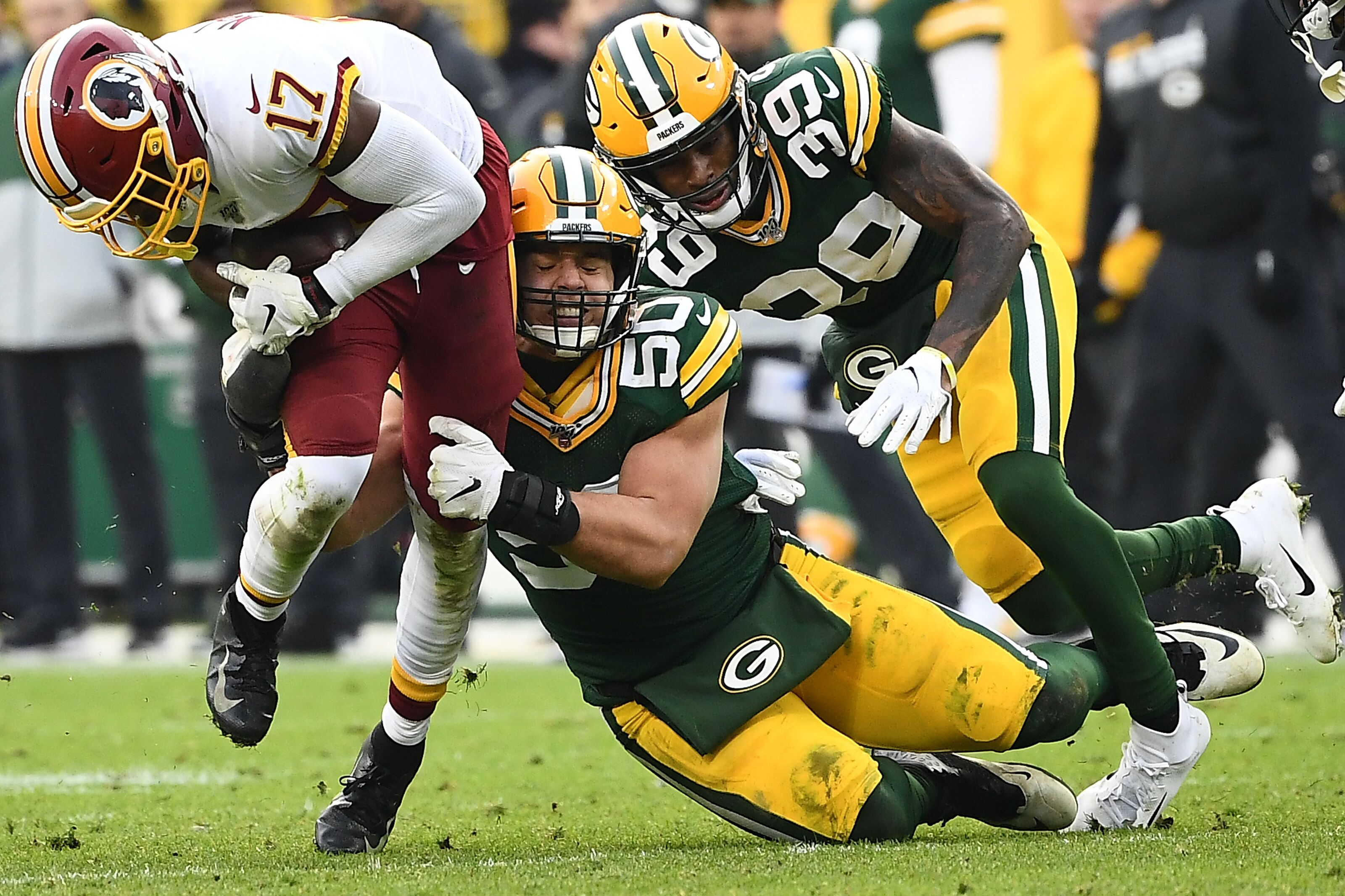 Redskins Studs and Duds from Week 14 loss to Packers