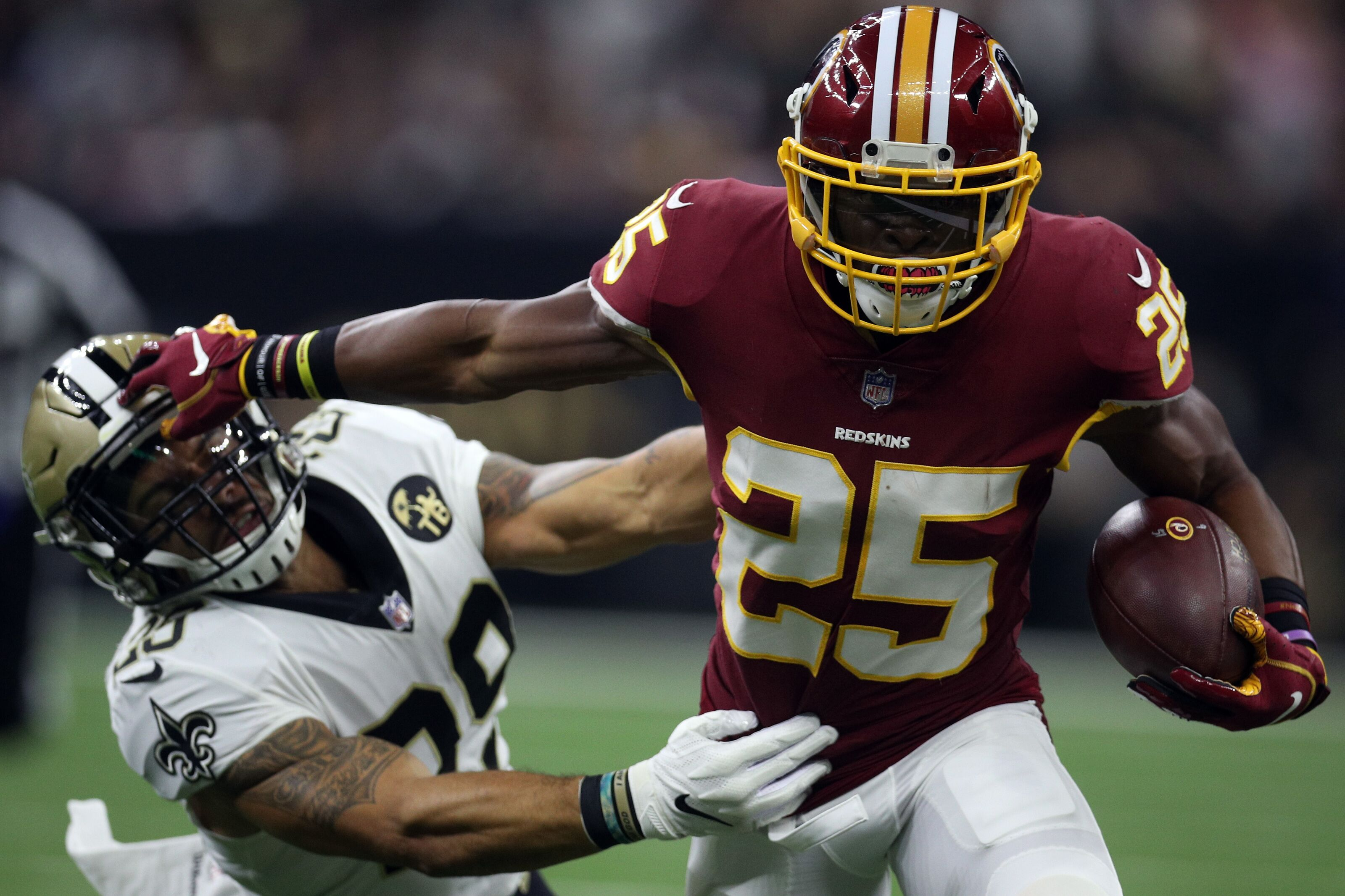 Redskins RB Chris Thompson eager for game action against Bengals