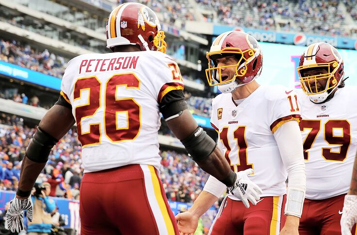 purchase cheap 1a510 74d20 Redskins take control of NFC East with win over New York Giants