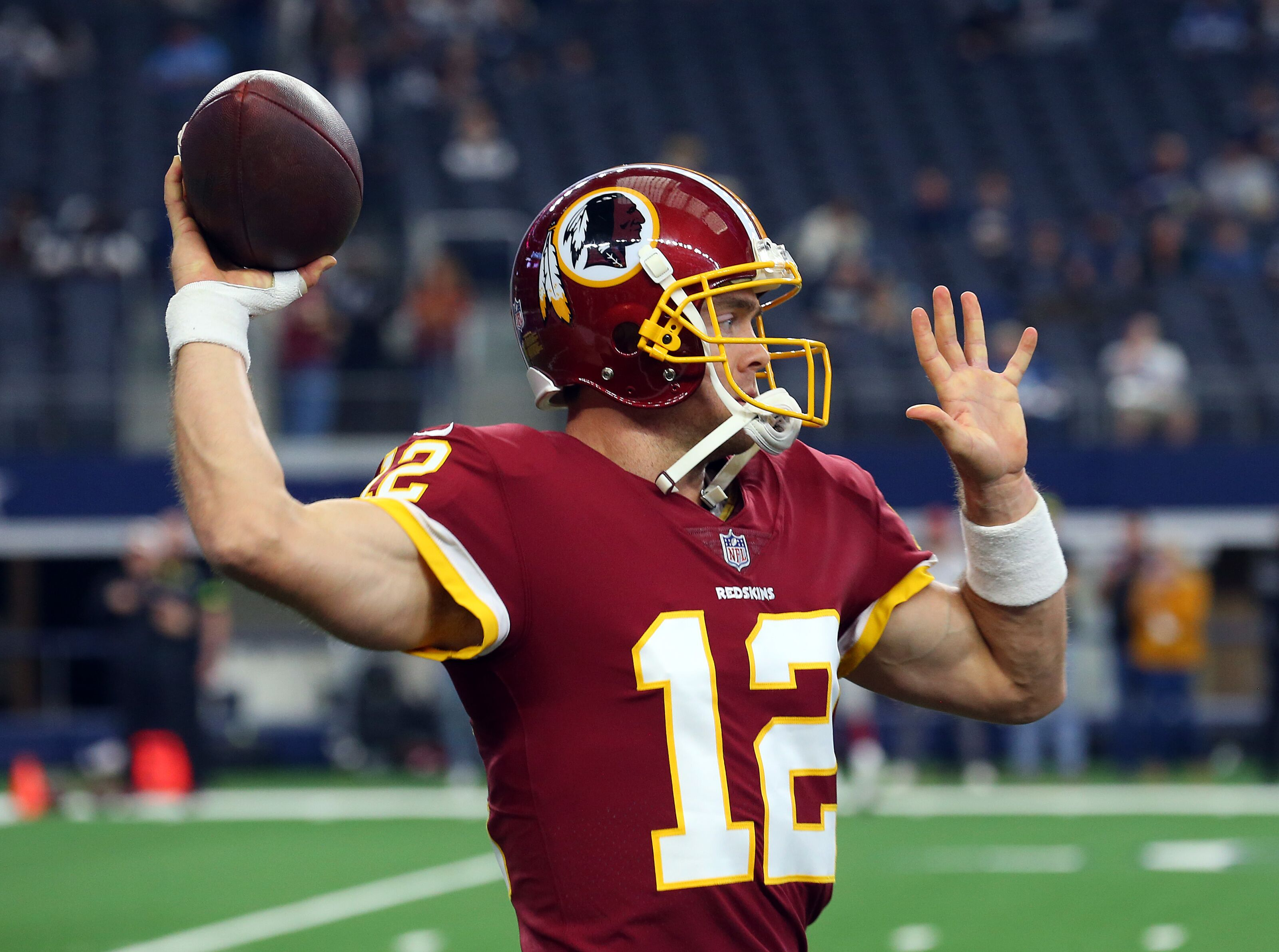 Redskins QB Colt McCoy's health in question, throwing status into doubt