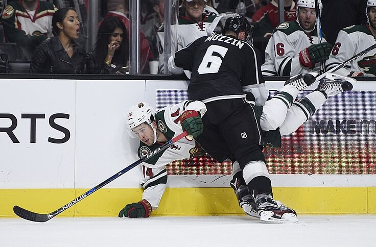 Los Angeles Kings Vs Minnesota Wild Keys Stats Injuries
