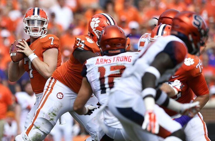 Clemson Football Espn Warns Tigers To Beware Syracuse Game