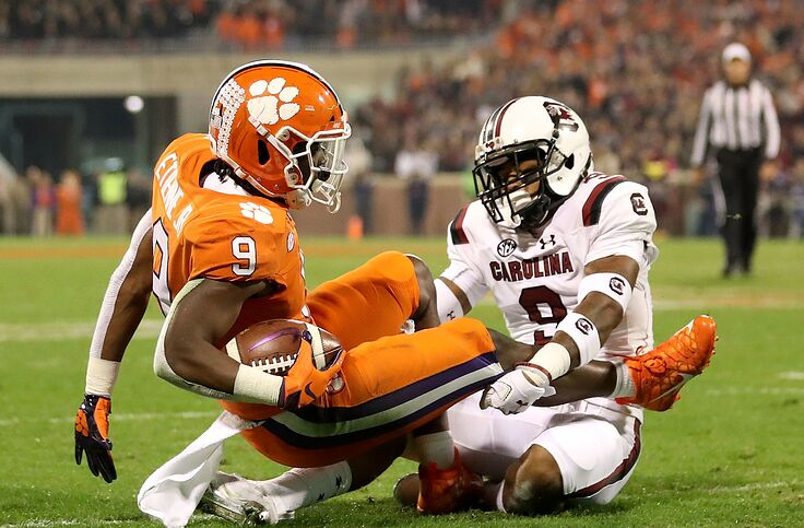 Clemson Football Game Time Early Odds Vs South Carolina
