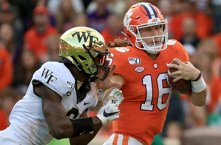 Clemson Football Tigers Dominate All Acc Team 2019