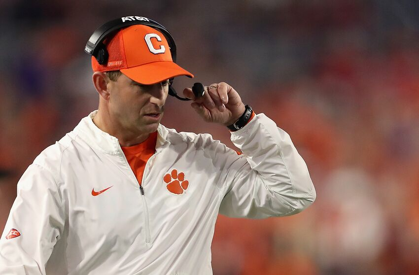 Clemson Football: Tigers must a take page out of Alabama's ...