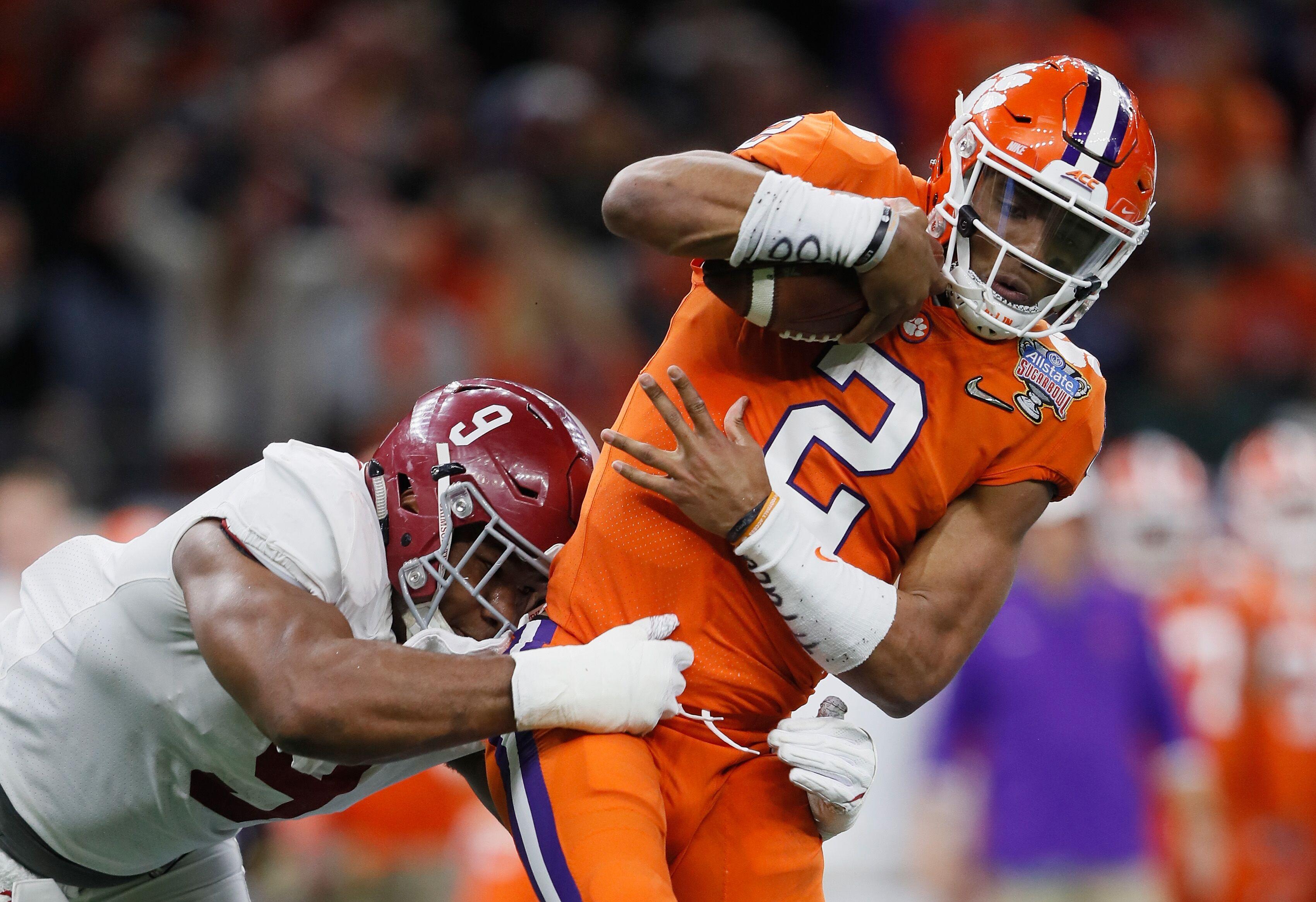 Clemson Football Loss To Alabama Raises Questions At Qb