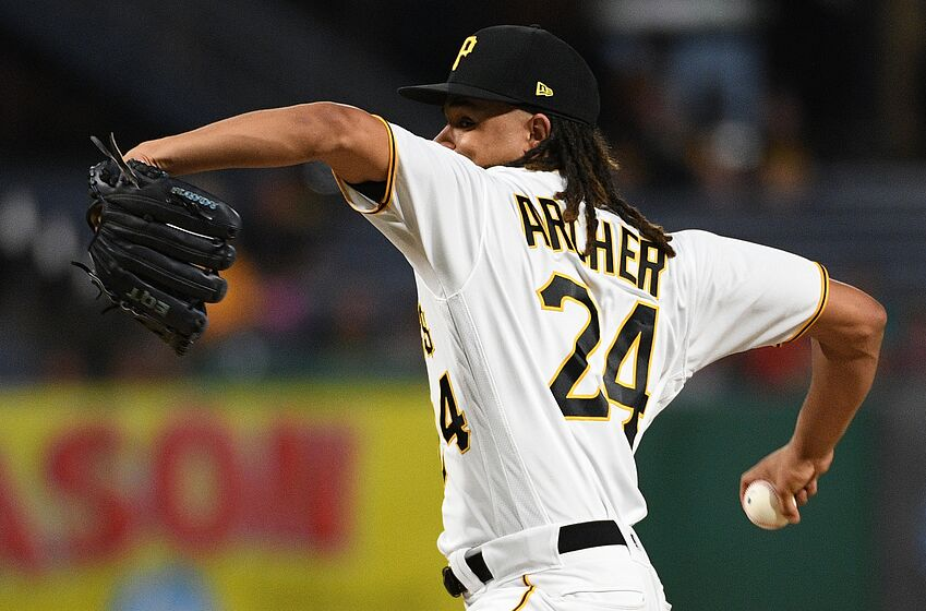 Image result for chris archer pirates
