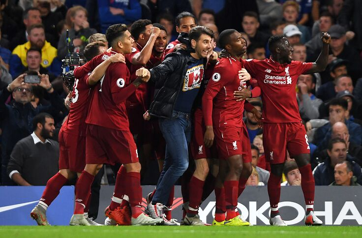 Image result wey dey for brewster celebrating with liverpool teammates