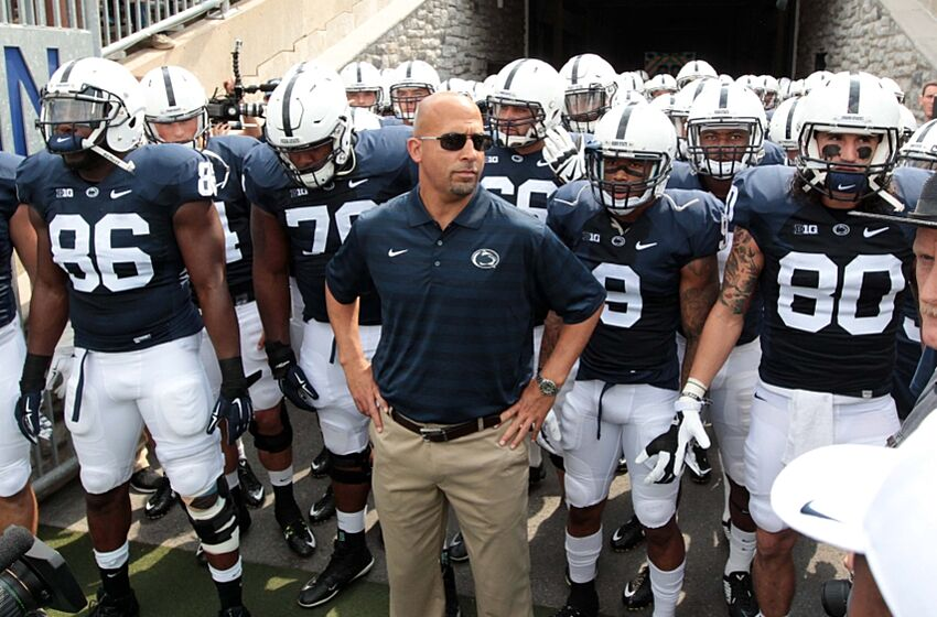 cd245b81f Penn State Nittany Lions remove names on back of jerseys