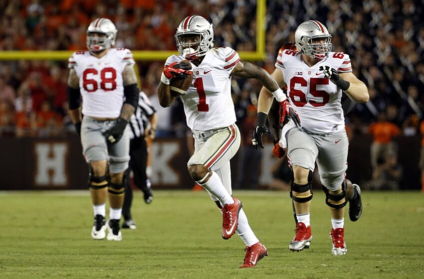 2e23fe17126 Braxton Miller may have stepped over Ezekiel Elliott as Ohio State's ...