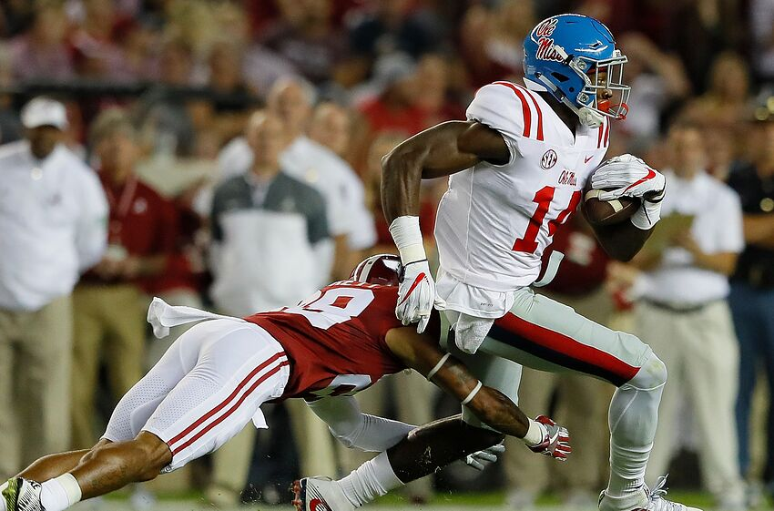Ole Miss Football DK Metcalf Bound For Breakout Season