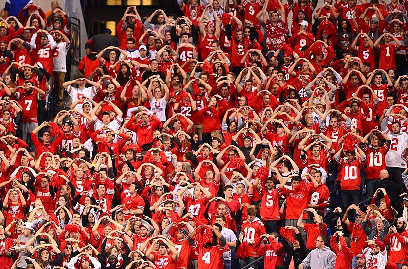 Ohio State Buckeyes Football Fan Base Ranked No 3 In The
