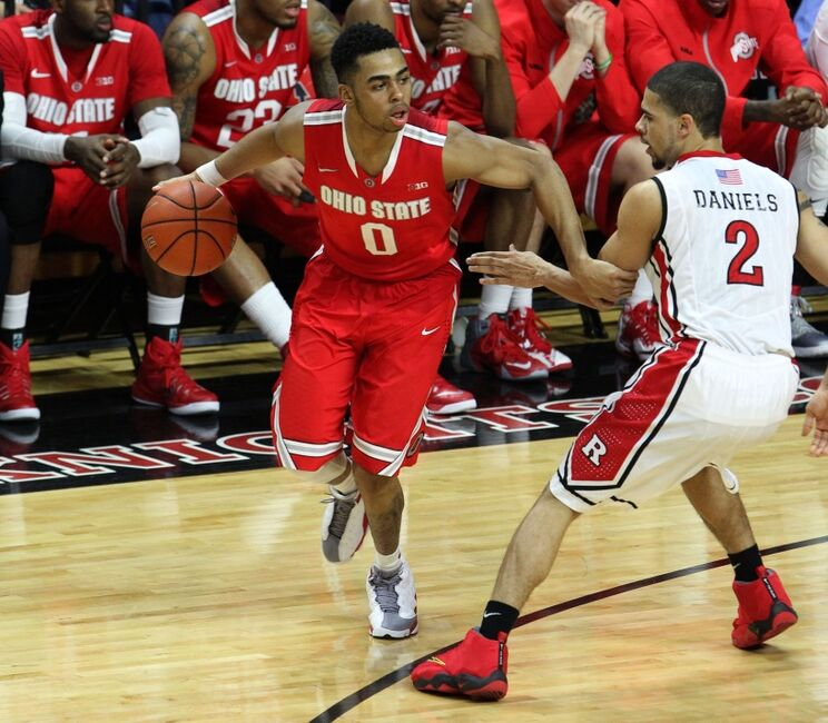 Image result for Ohio State vs Rutgers Basketball