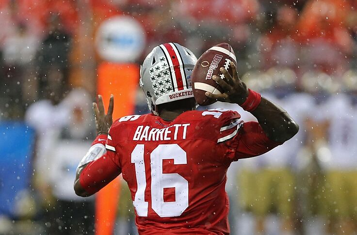 huge selection of 2fd50 20217 Breaking: J.T. Barrett Breaks Ohio State Career TD Passing ...