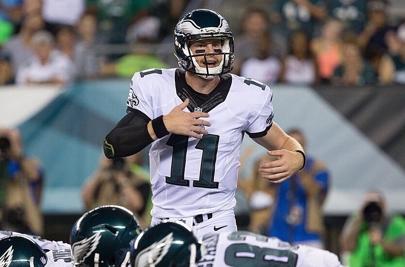 d25fc20be9d Aug 11, 2016; Philadelphia, PA, USA; Philadelphia Eagles quarterback Carson  Wentz